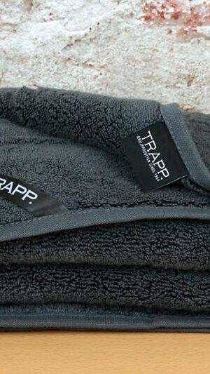 antraciet handdoek