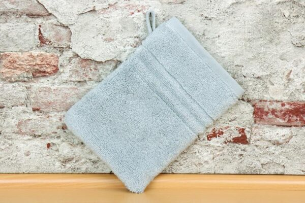 TRAPP. wash cloth silver